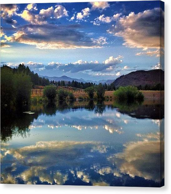 Idaho Canvas Print - #flyfishing #idaho #sunvalley by Cody Haskell