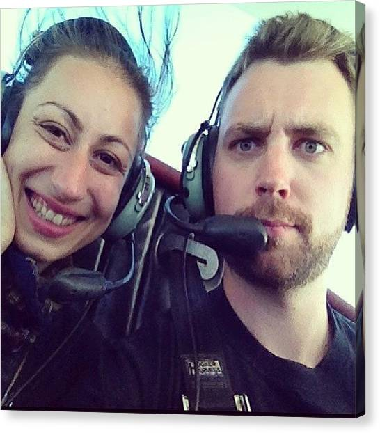 Biplane Canvas Print - #flying #biplane #ride #vacation With by Megan Rudman