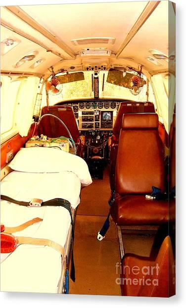 Flying Doctor Plane Canvas Print by John Potts