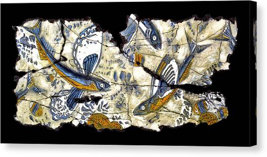 Bogdanoff Canvas Print - Flying Fish No. 3 by Steve Bogdanoff