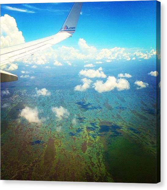 Everglades Canvas Print - Flying Over The Everglades...#amazing by Blogatrixx