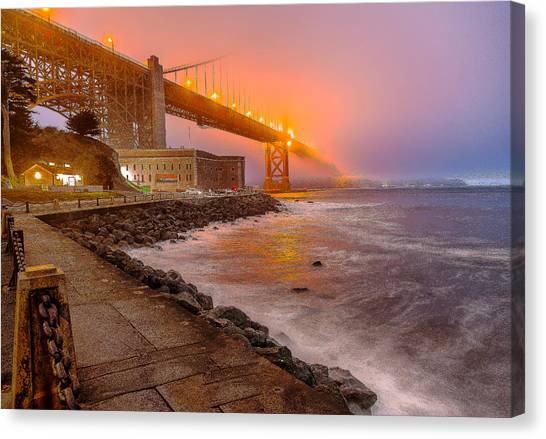 Fog City Canvas Print