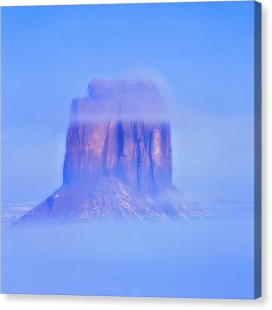 Fog Cover  Canvas Print