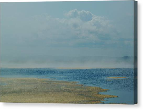 Fog Lifting Canvas Print