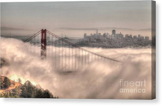 Fog Roll Canvas Print