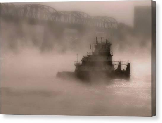 Fogbound Canvas Print