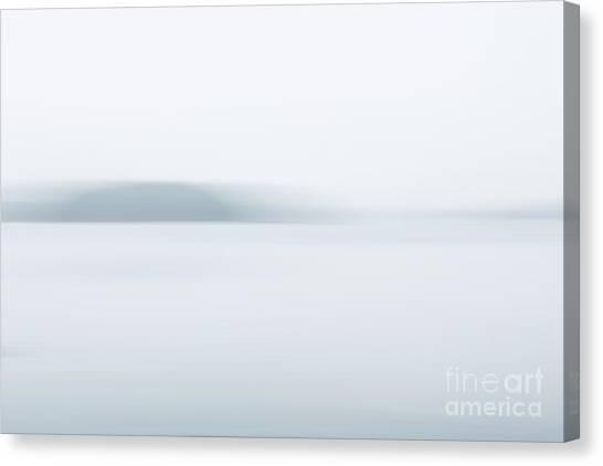 Foggy Bay 2 Canvas Print