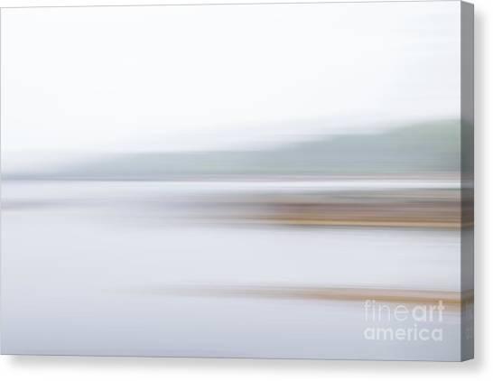 Foggy Bay 3 Canvas Print