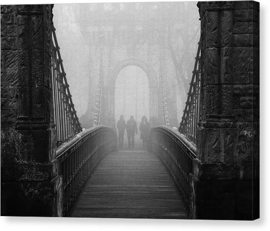 Foggy Day(they) Canvas Print by Catalin Alexandru