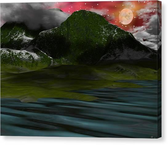 Foggy Mountain Dew Canvas Print