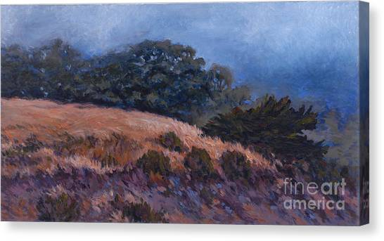 Foggy Oasis - Pch Canvas Print by Betsee  Talavera