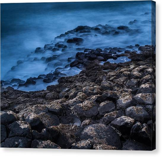 Foggy Seascape Canvas Print by Craig Brown