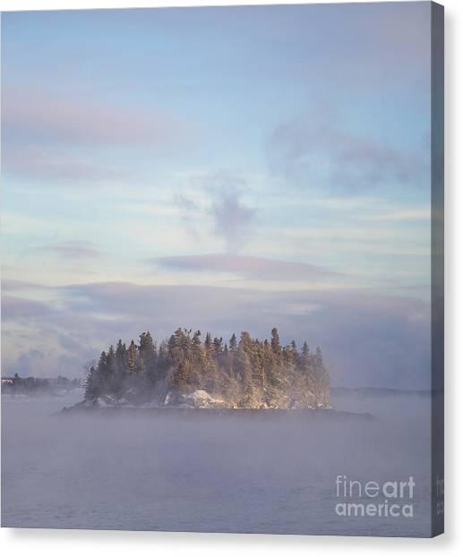 Foggy Canvas Print - Fogscape by Evelina Kremsdorf