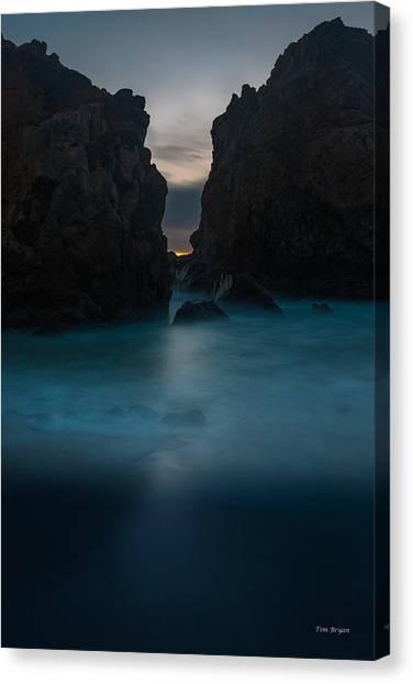 Follow The Light.... Big Sur Canvas Print