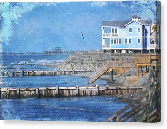 Folly Beach Canvas Print