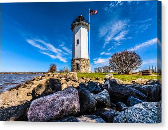 Fond Du Lac Lighthouse Canvas Print