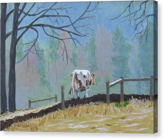 Fond Memories Of Rachael Canvas Print