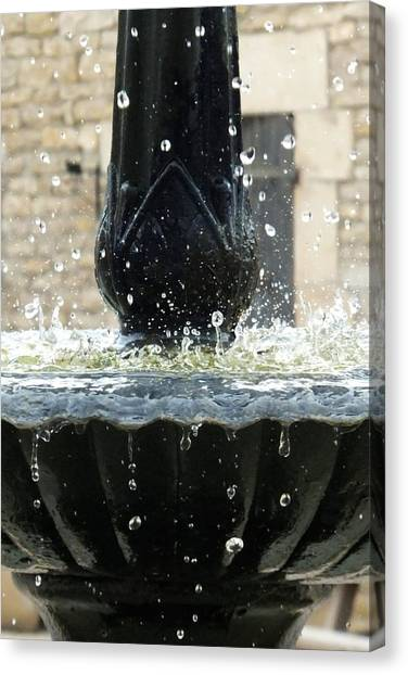 Gota Canvas Print - Fontaine Pluvieuse by Marc Philippe Joly