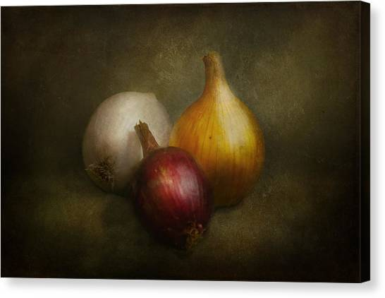 Onions Canvas Print - Food - Onions - Onions  by Mike Savad