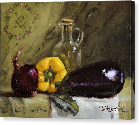 Food Still Life Canvas Print