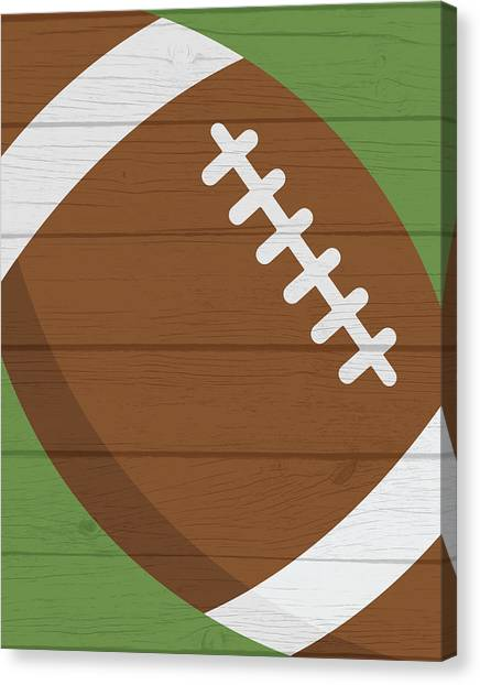 Football Canvas Print - Football 2 by Tamara Robinson