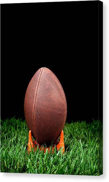 Football Kickoff Canvas Print