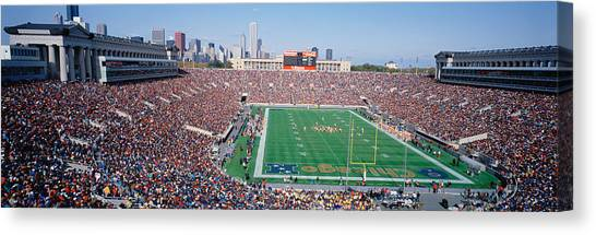 Soldier Field Canvas Print - Football, Soldier Field, Chicago by Panoramic Images