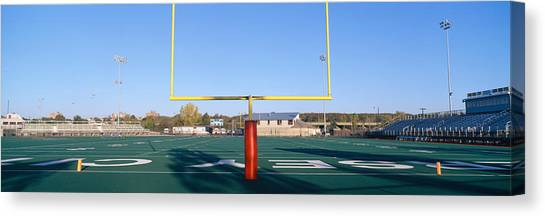 Colleges And Universities Canvas Print - Football Stadium, Jersey City, New by Panoramic Images