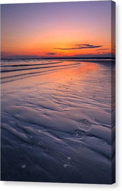 Footstep Canvas Print