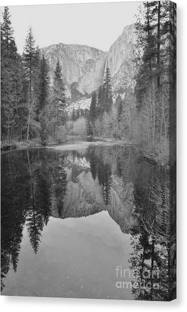 Footsteps Of Ansel Adams Canvas Print