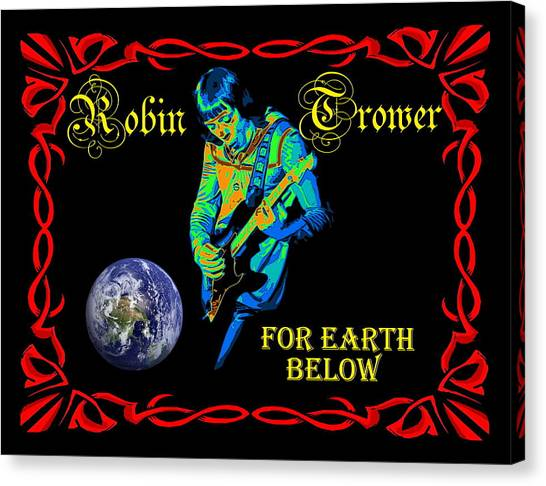 For Earth Below #1 Canvas Print