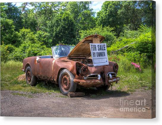 For Sale By Owner Canvas Print