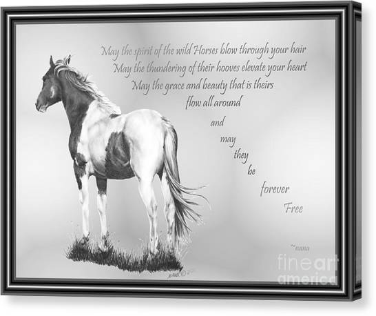 for the Wildies Canvas Print