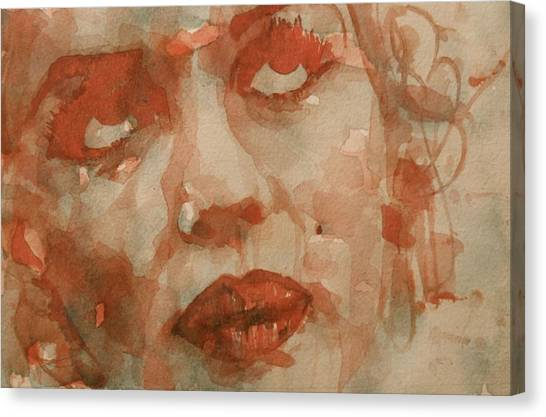 Blond Canvas Print - For You The Sun Will Be Shining by Paul Lovering