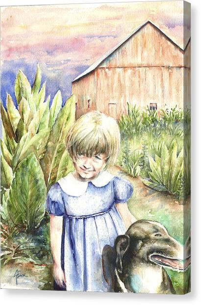 Forbes Road Farm Canvas Print by Arthur Fix