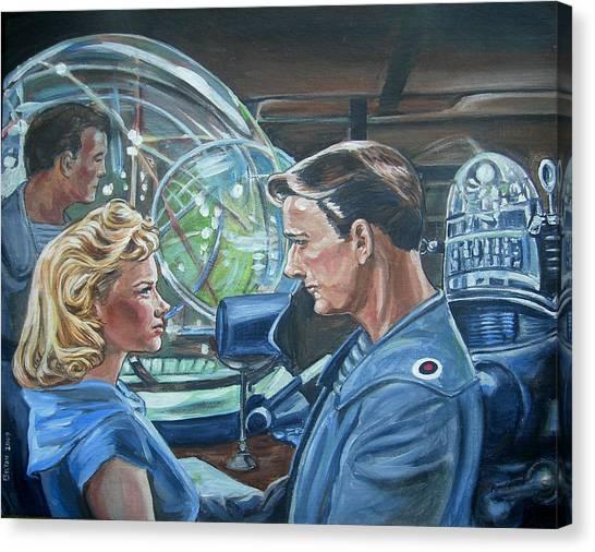 Forbidden Planet Canvas Print - Forbidden Planet by Bryan Bustard
