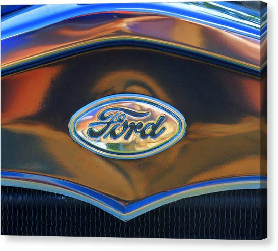Ford 001 Canvas Print