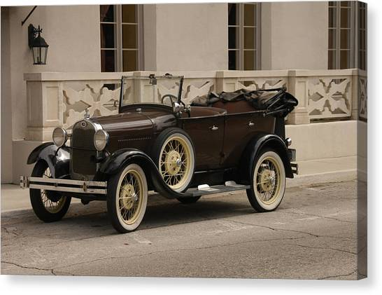 Ford Convertible 01 Canvas Print