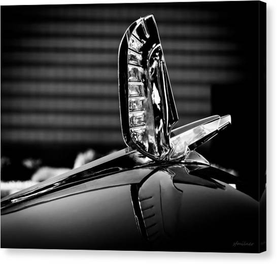 Ford - Cresline Sunliner Hood Ornament Canvas Print