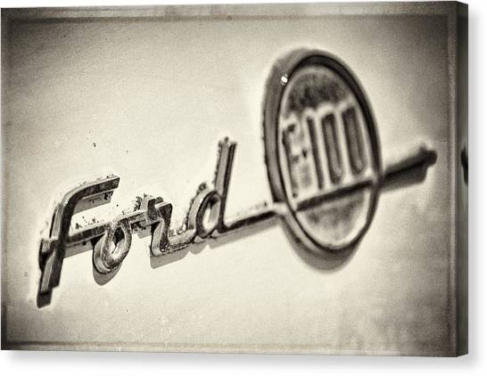 Ford F-100 Canvas Print
