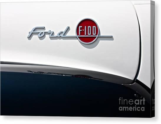 Ford F-100 Canvas Print