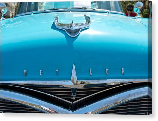Ford Meteor Canvas Print