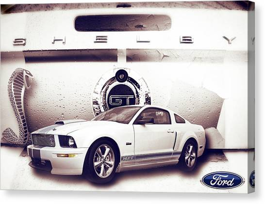 Ford Mustang Shelby Gt  Canvas Print