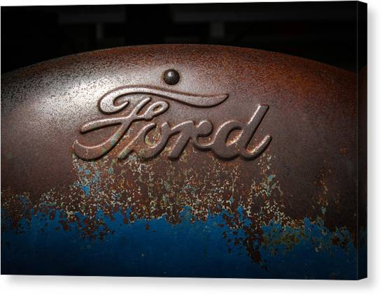 Ford Tractor Logo Canvas Print