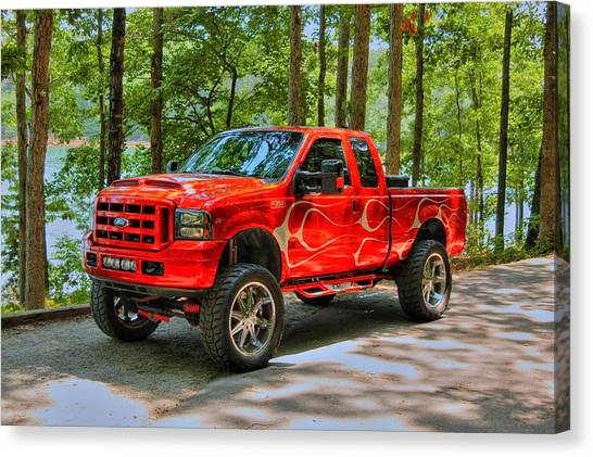 Ford Truck 01 Canvas Print