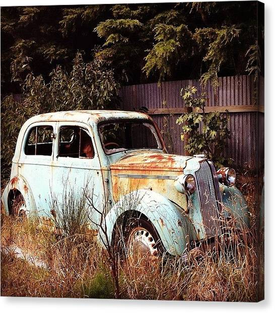 Keeper Canvas Print - Ford Wannabe ? #ford #classic by Nate Greenberg