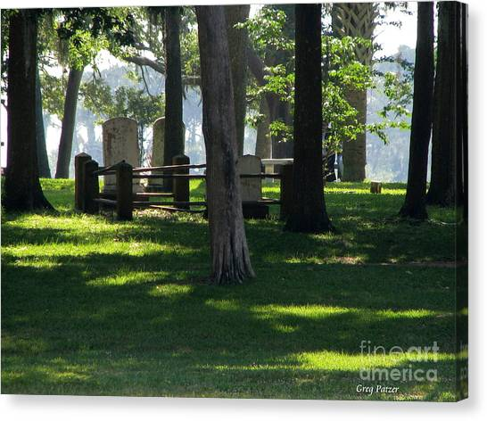 Fore Fathers Canvas Print by Greg Patzer