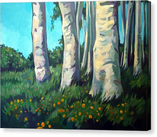Forest Canvas Print by Filip Mihail