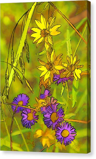 Forest Flora Canvas Print