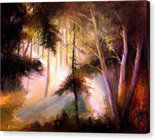 Forest Forest Forest Canvas Print